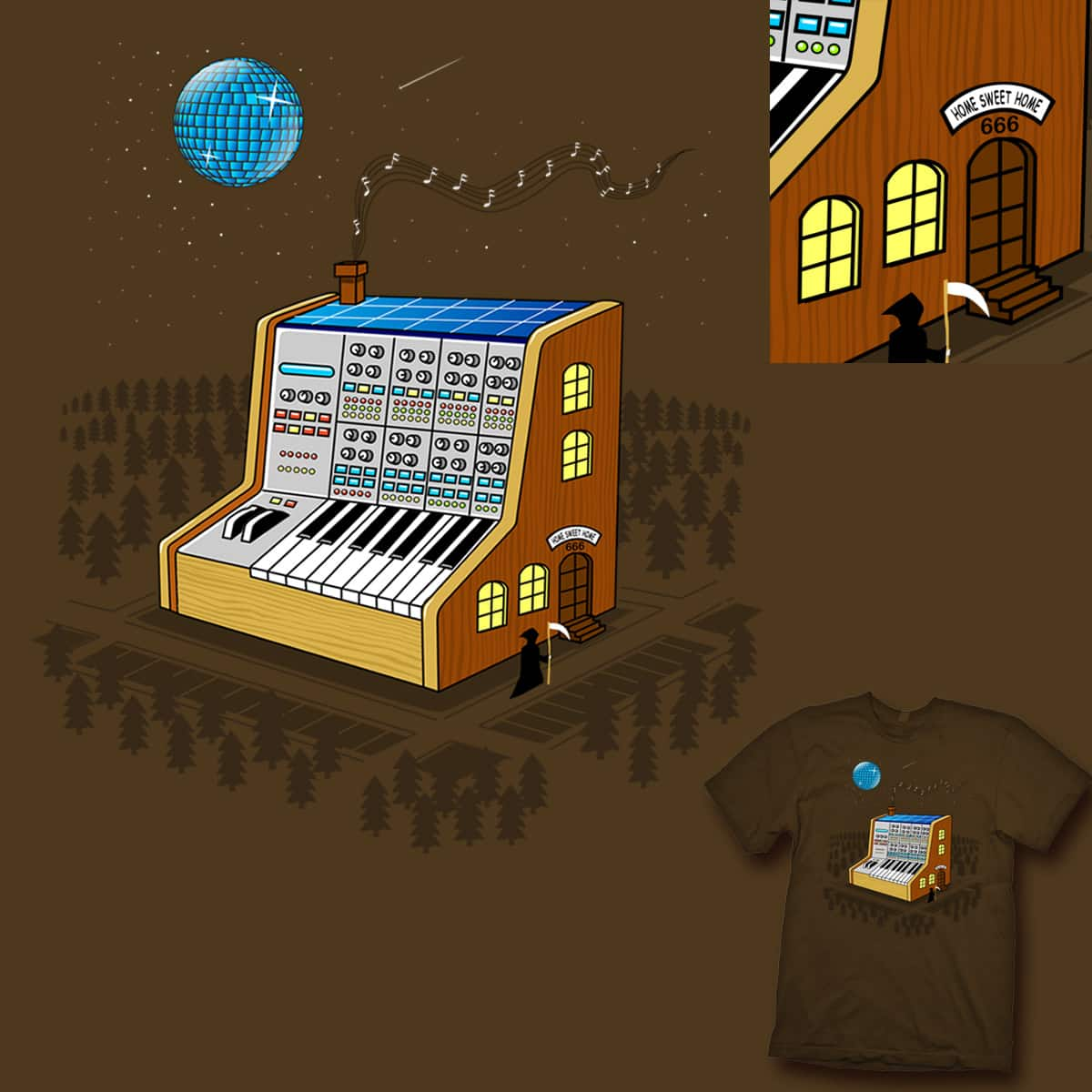 Home Sweet Home by kuli_grafis on Threadless