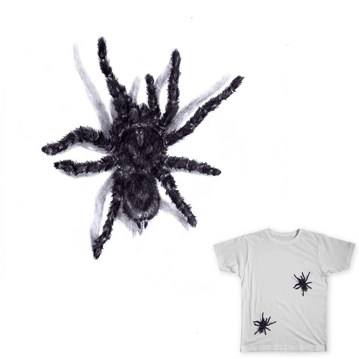 Spiders on your shirt! by juanpaulomanalo on Threadless