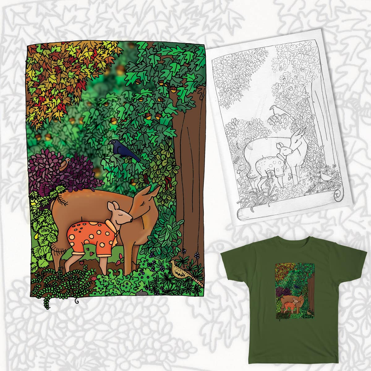 Into the forest by AnDickinson on Threadless