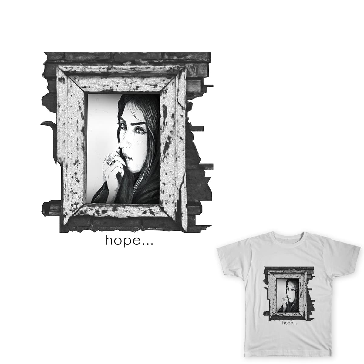 Hope by subashine on Threadless