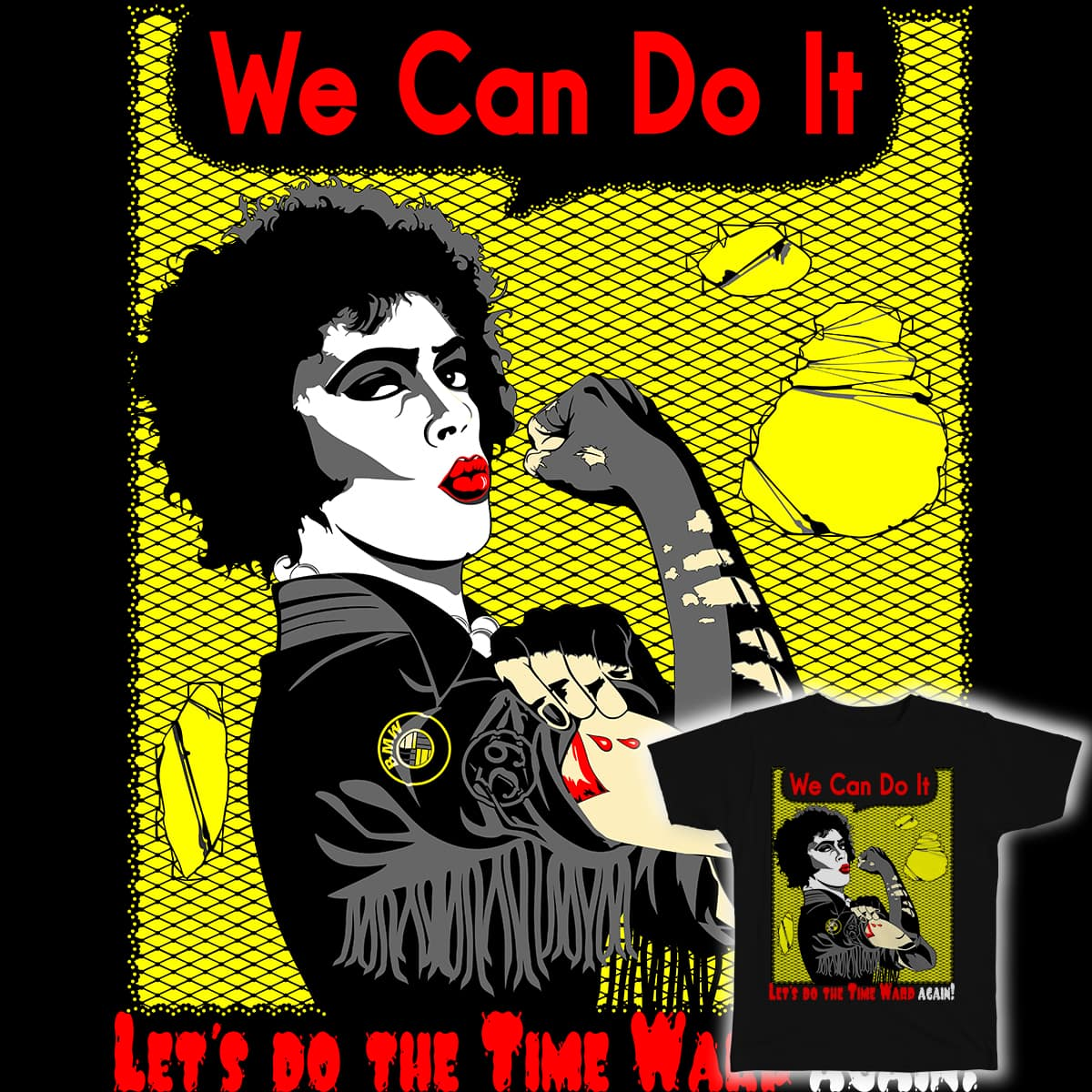 We can do the time warp by eruparo on Threadless