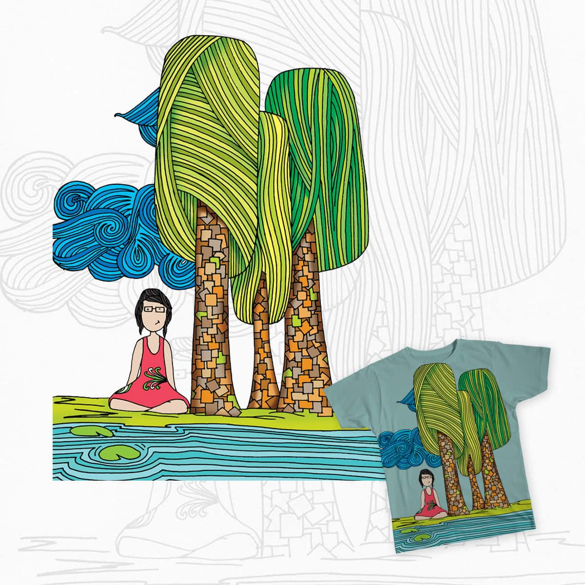 Susana la sana / The healthy Susan by AnDickinson on Threadless