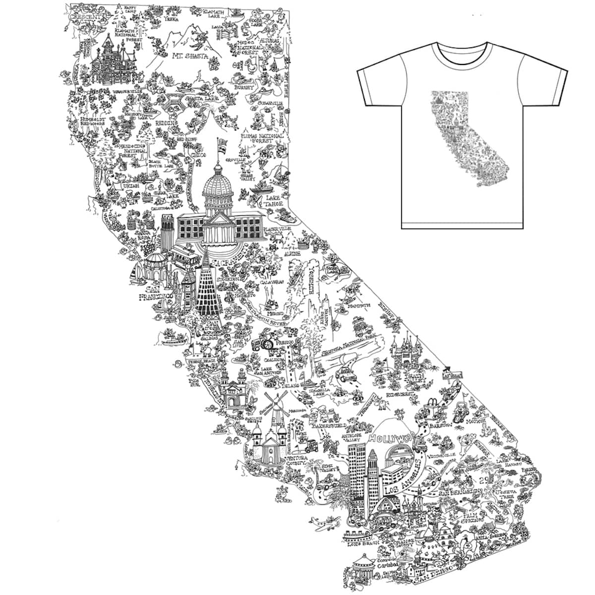 California Dreamin' by Cbad-Designs on Threadless