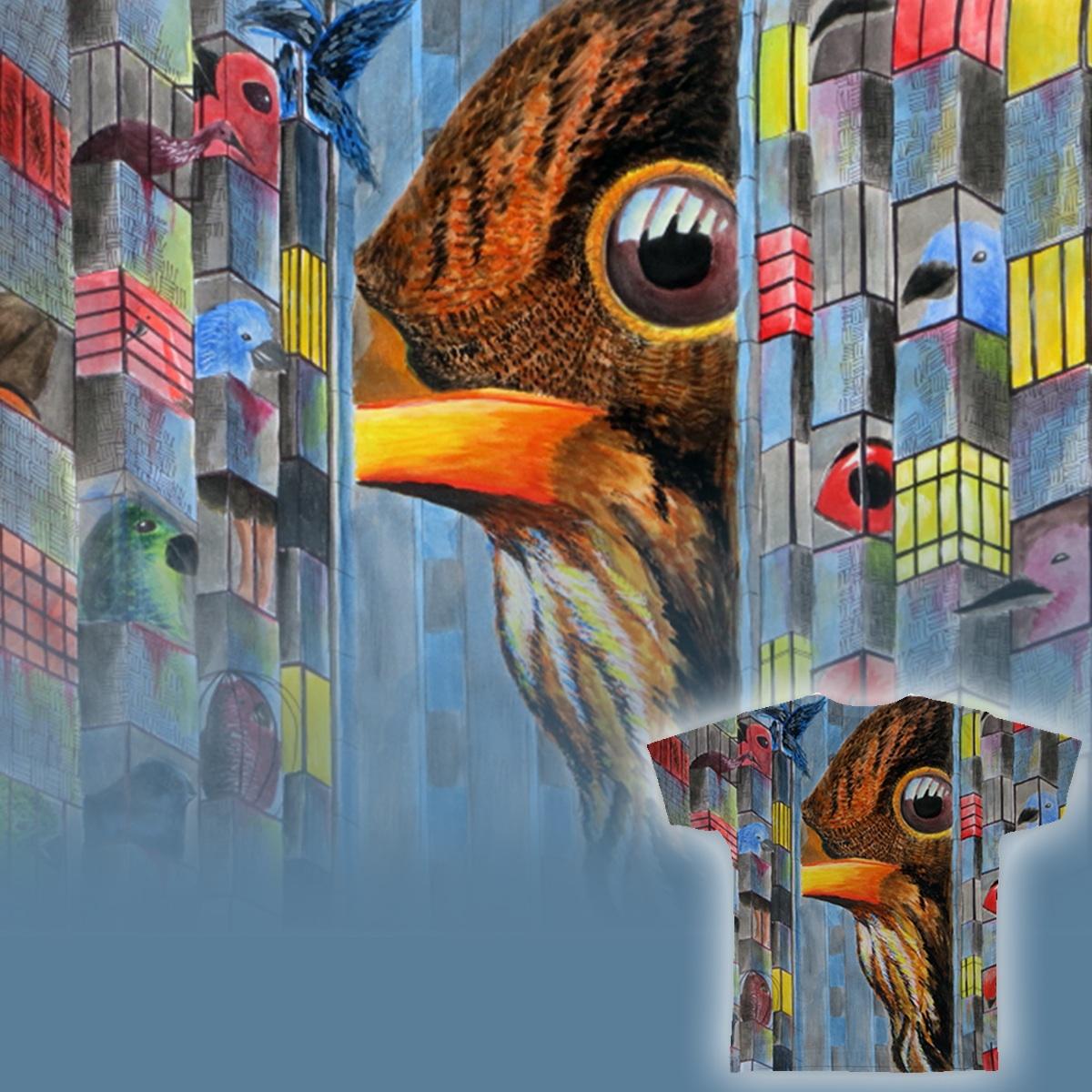 Bird's Eye by PatriciaChang on Threadless