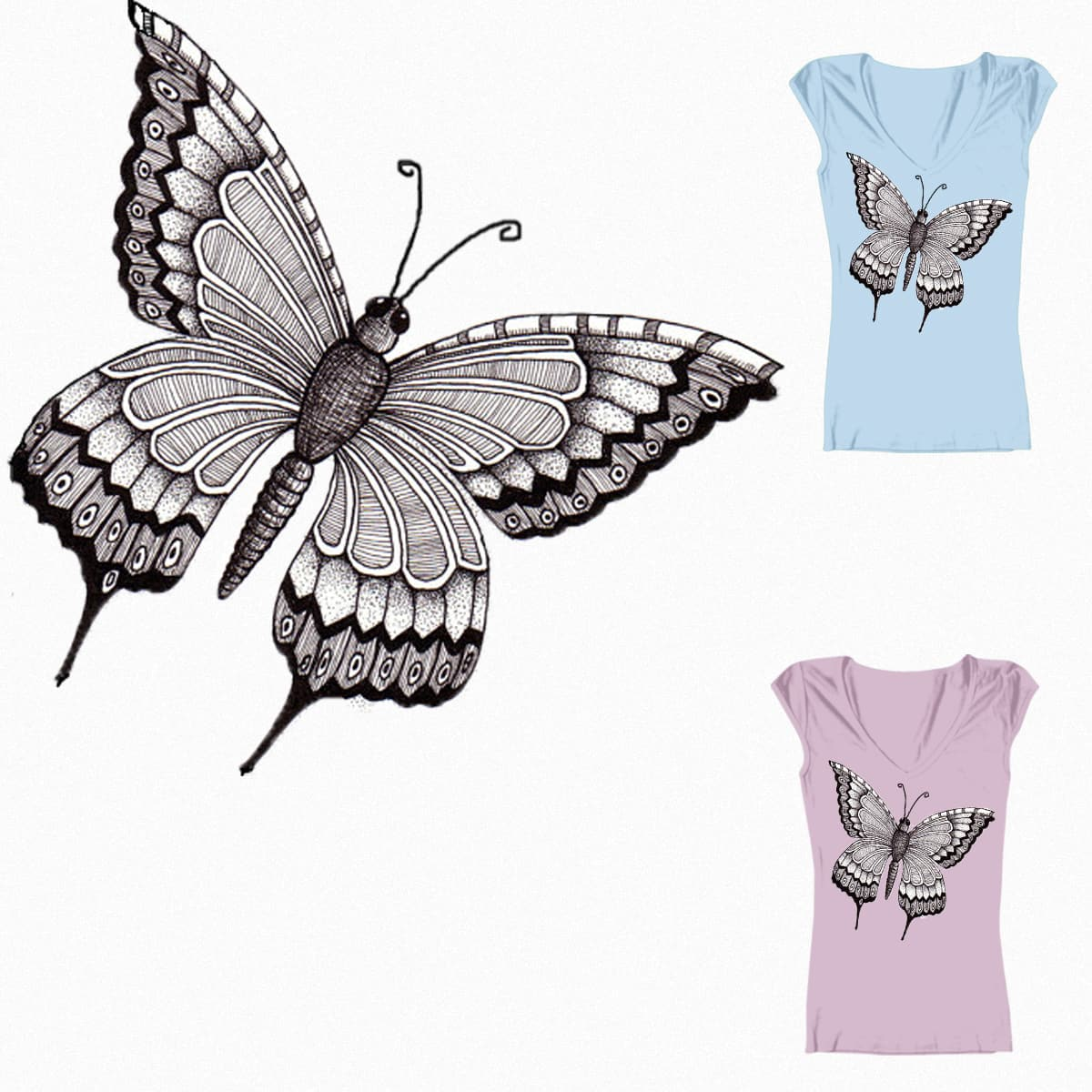 butterfly by simran3791 on Threadless