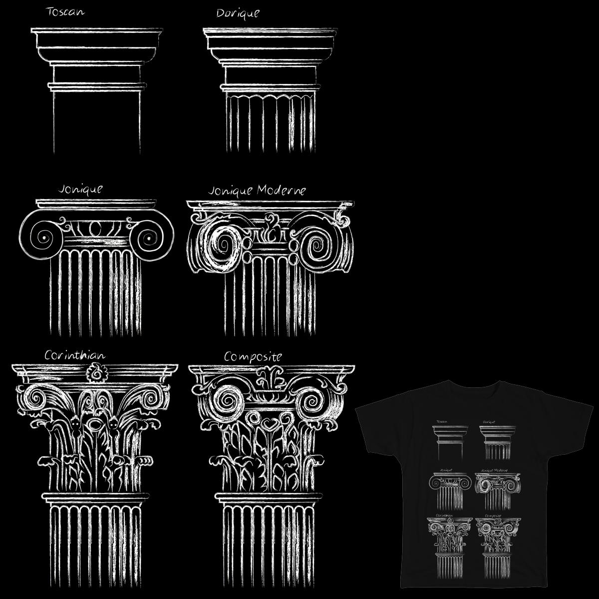 Classic Columns  by stheartsiegirl on Threadless