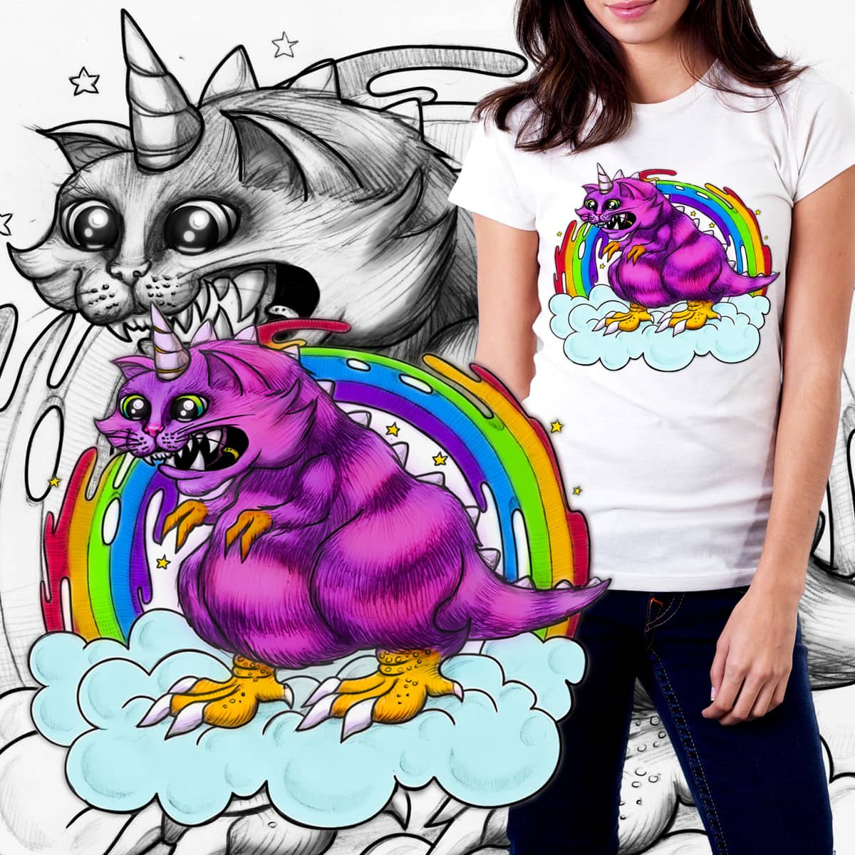 An Abomination of Awesome by Helenasia on Threadless