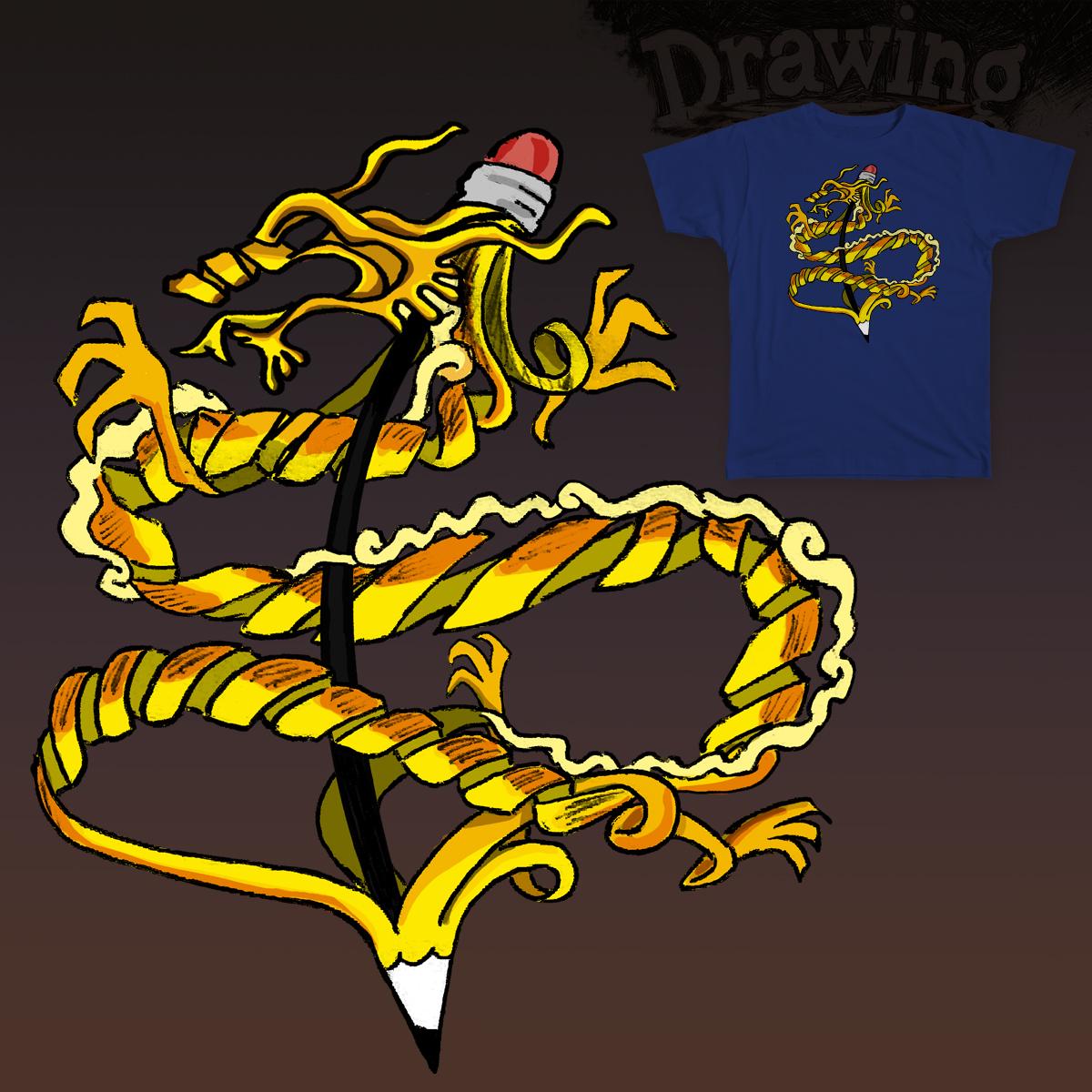 DRAwinGON by mutsu on Threadless