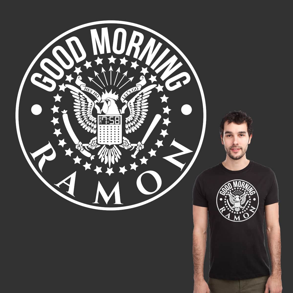 Good Morning Ramon by javierv007 on Threadless