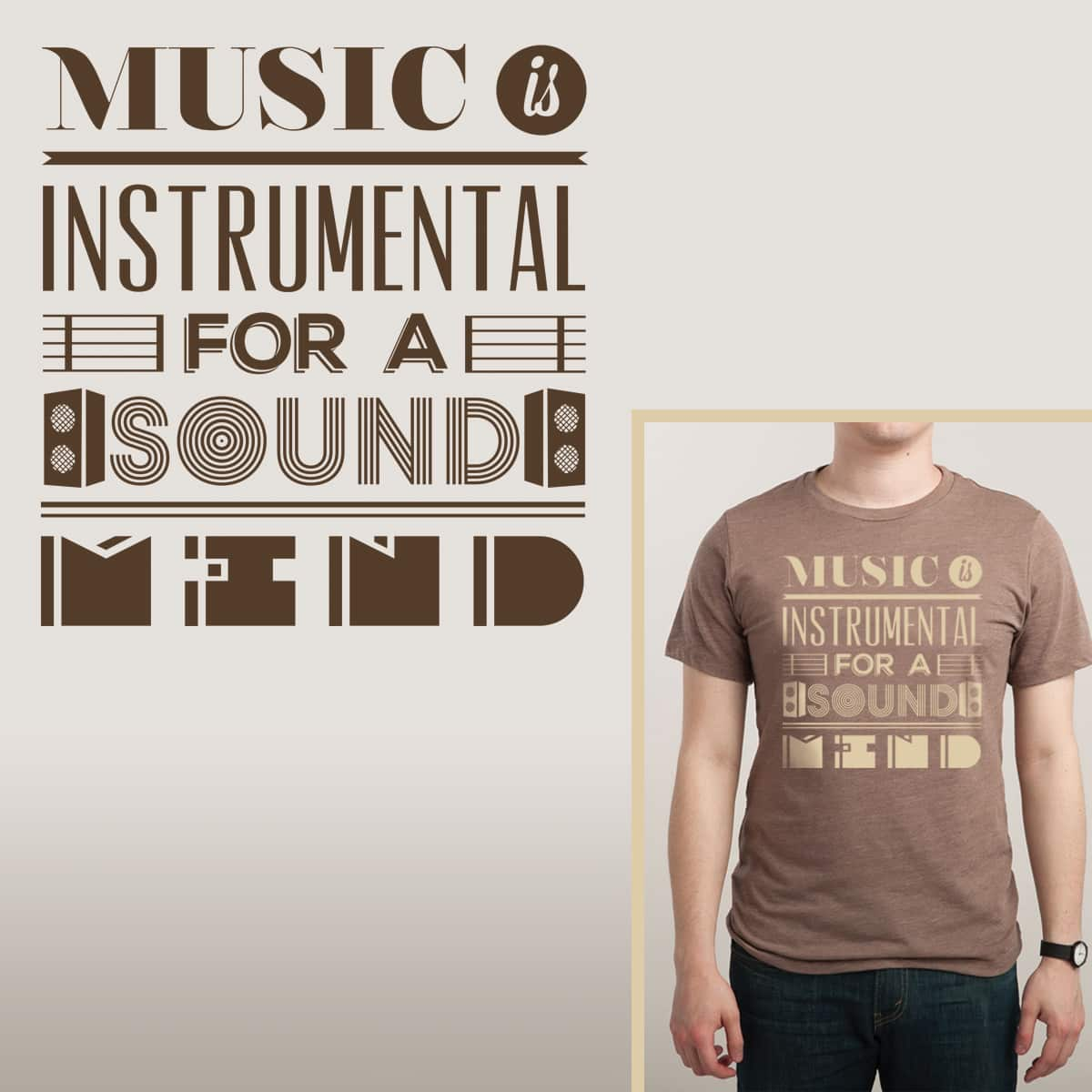 Sound Mind by parallelish on Threadless