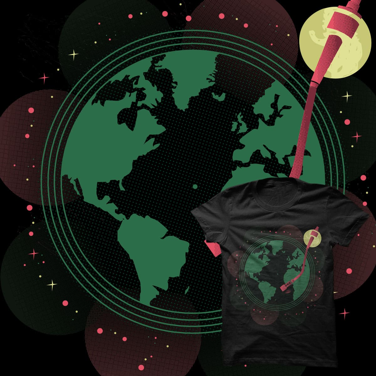 music is my world by Jake_Kraken on Threadless