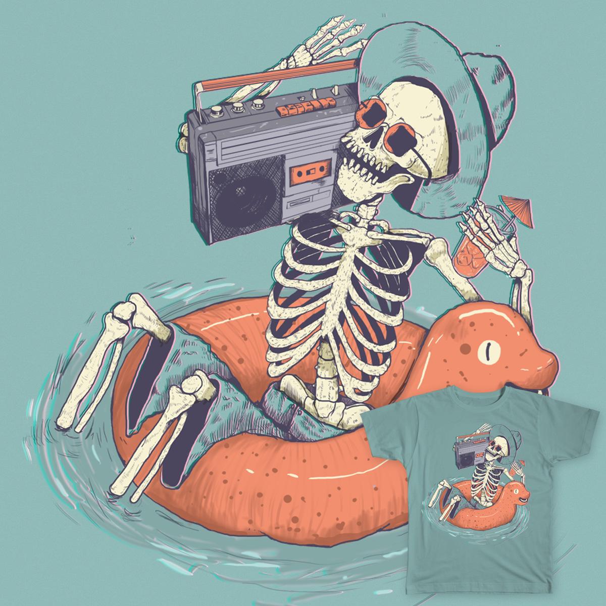 i will love music till dead by adriansantanacruz on Threadless