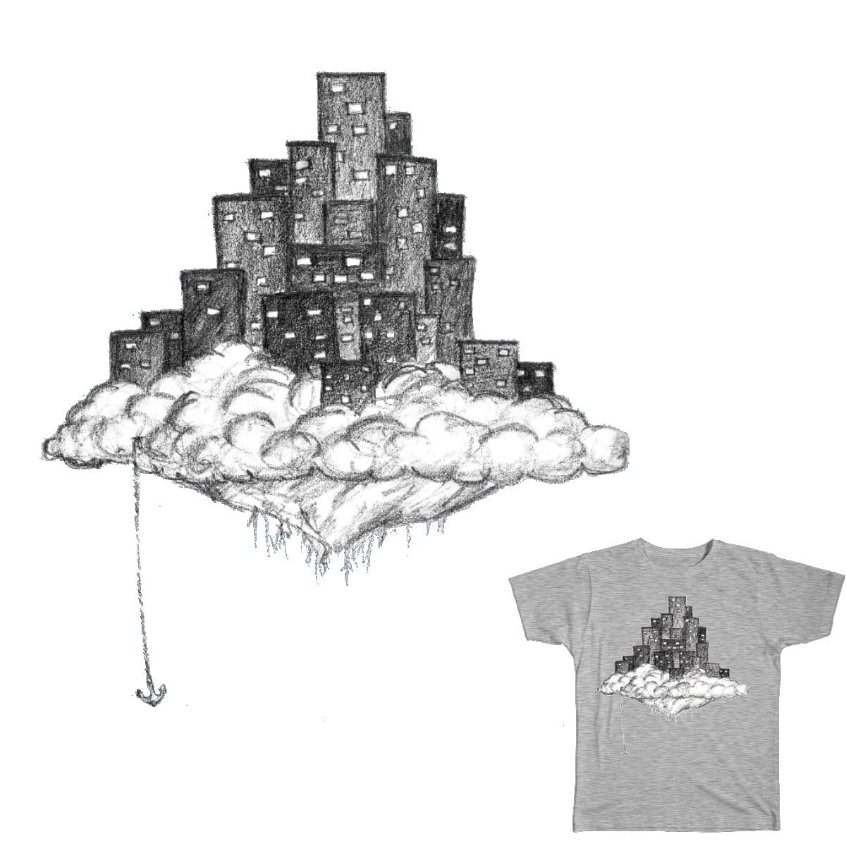 Floating City by zombik on Threadless
