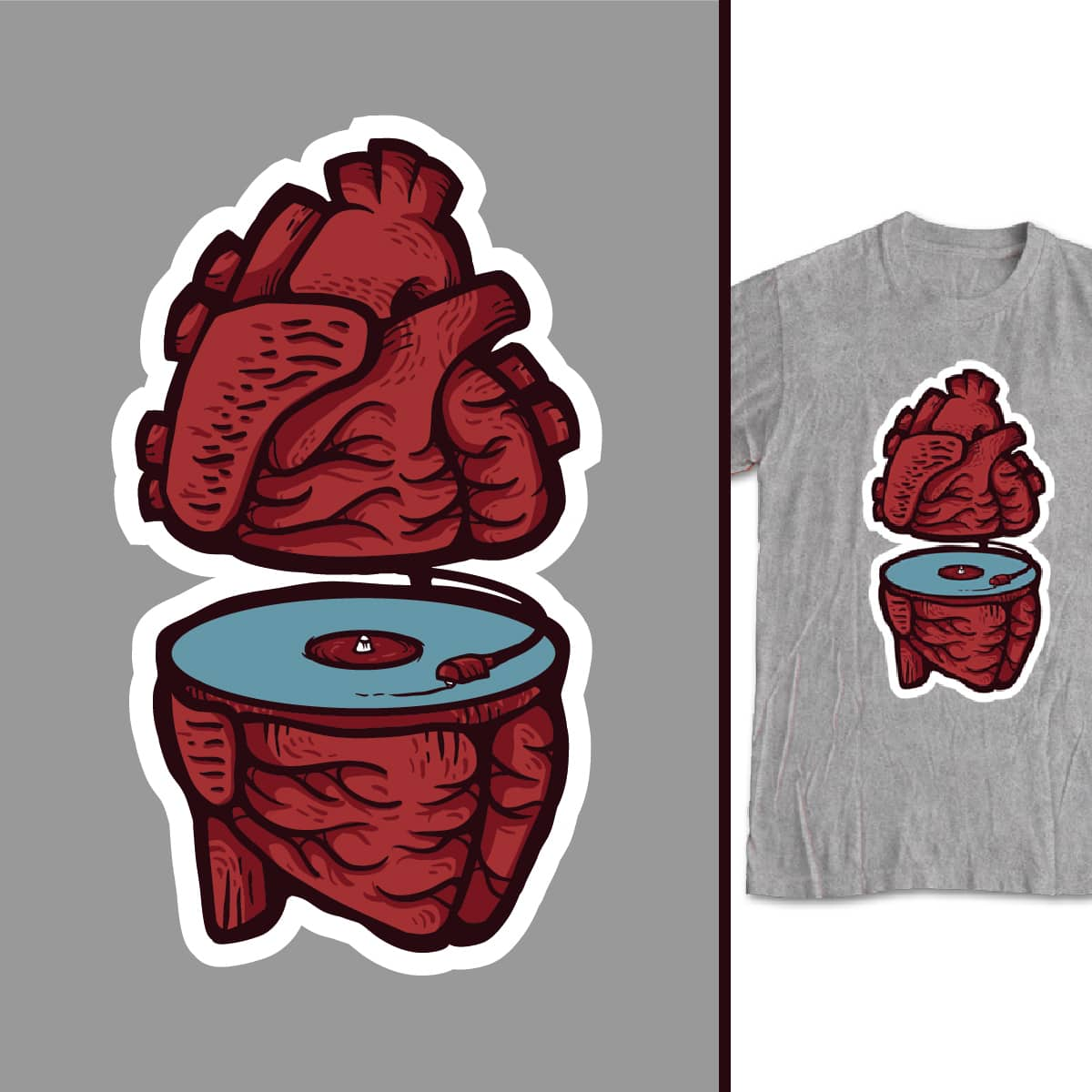 Runs in my veins by luccabloedow on Threadless