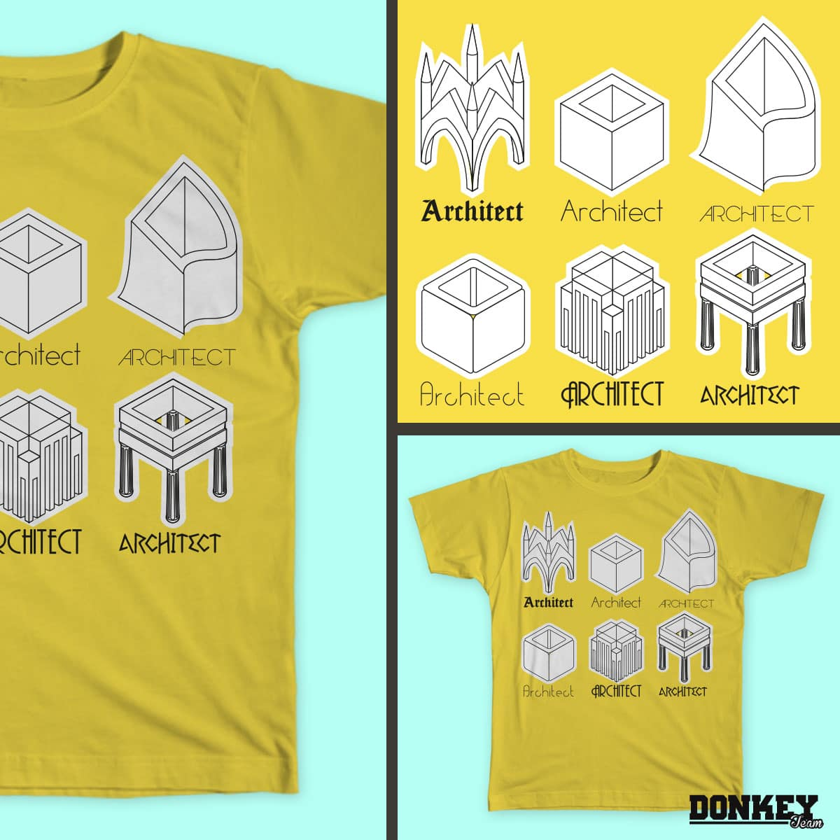 Cubes by laura.maria.750546 and mario.lobo on Threadless