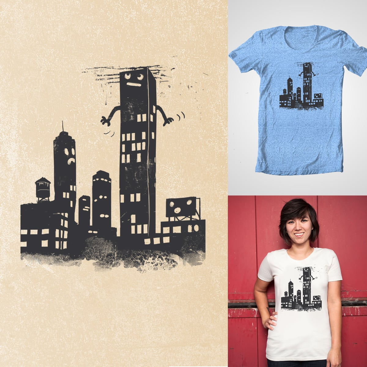 The Skyscraper by GloopZ on Threadless