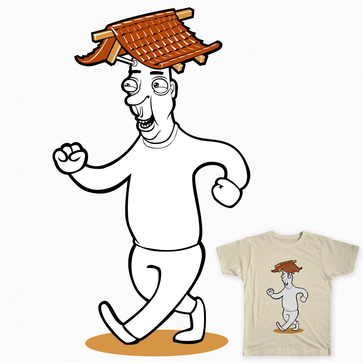 Wherever I Lay my Hat by partalarvi on Threadless