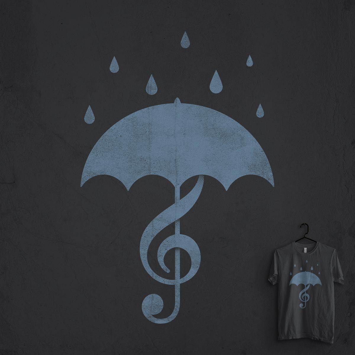 Singing in the Rain by idilek on Threadless