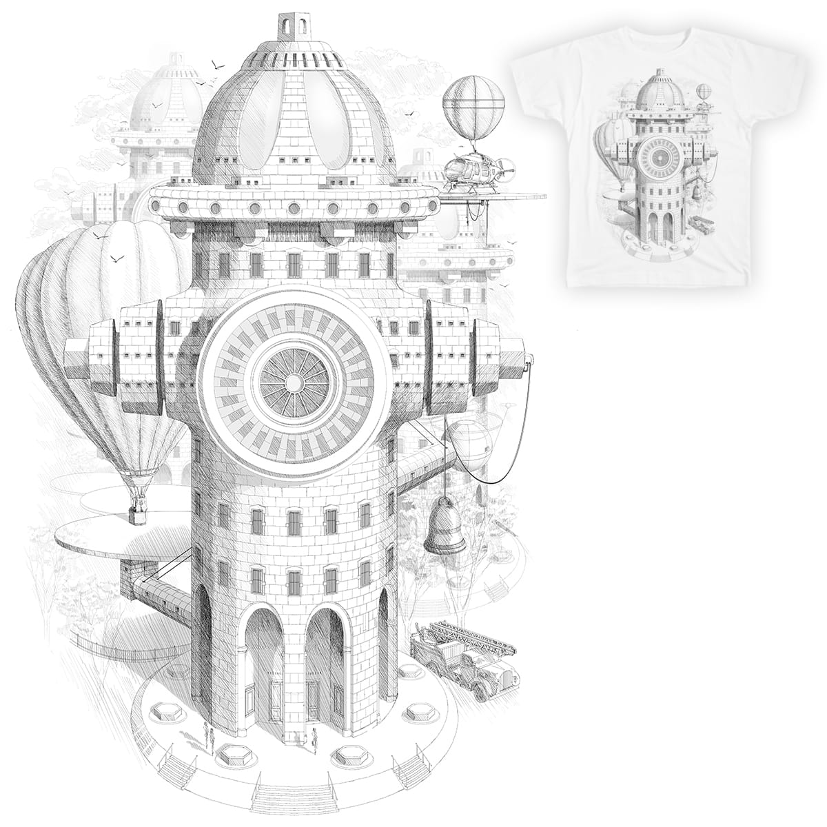 OZ FIRE DEPARTMENT by NARNIAZ on Threadless
