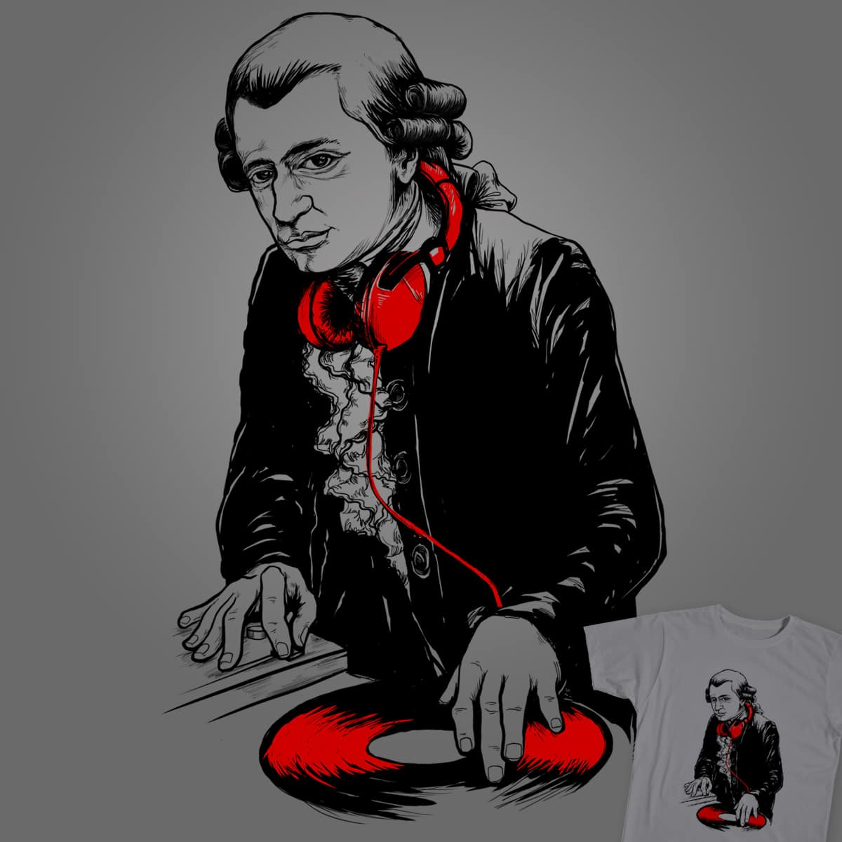 MUSIC IS MOZART by ogie1023 on Threadless