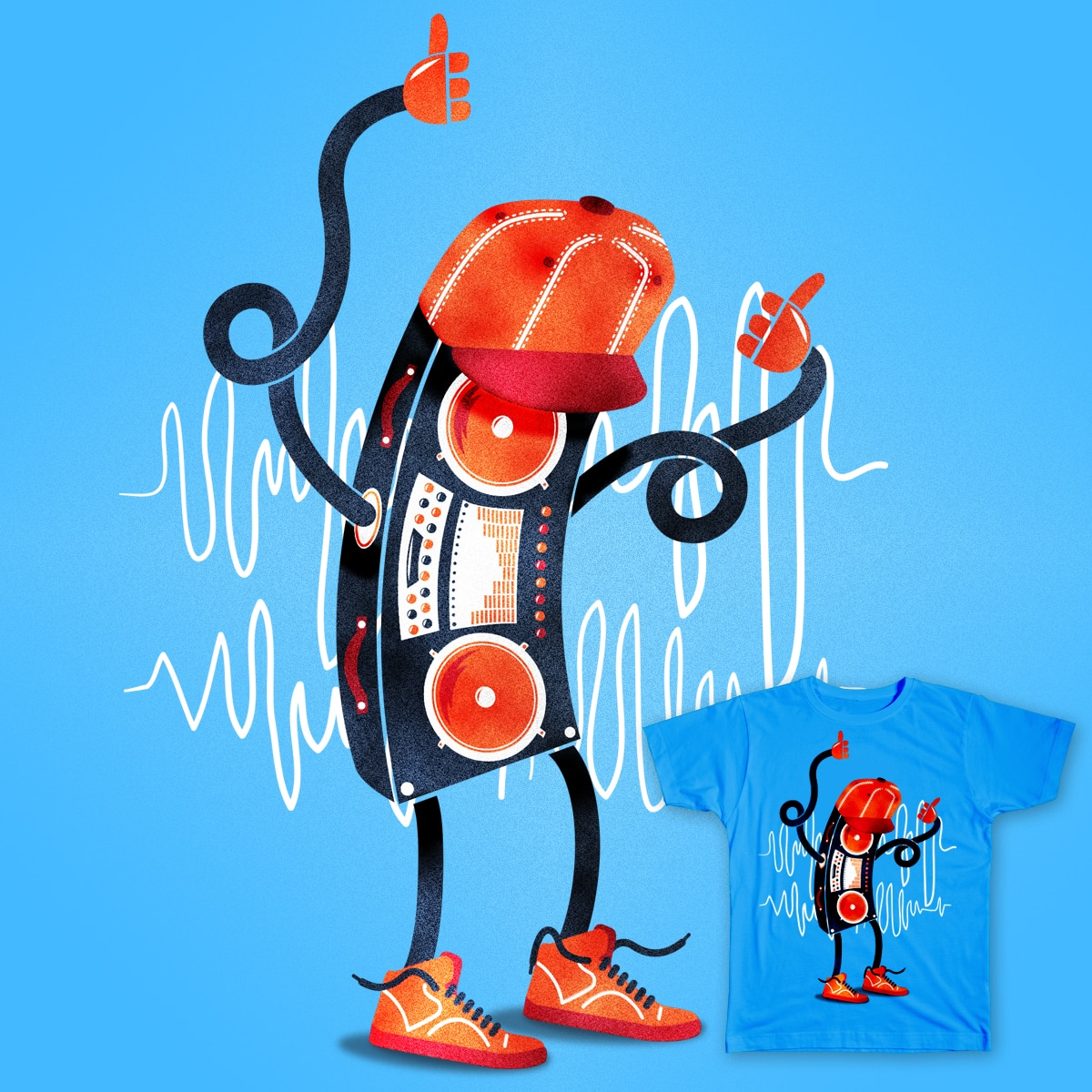 Boombox by thenicc on Threadless