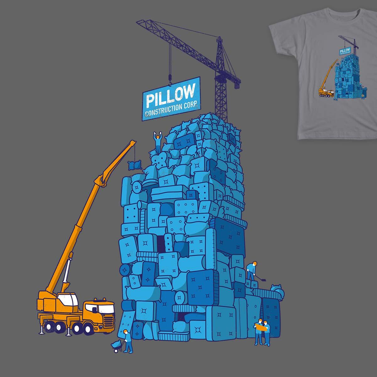 Pillow Construction Corp. by damusp on Threadless
