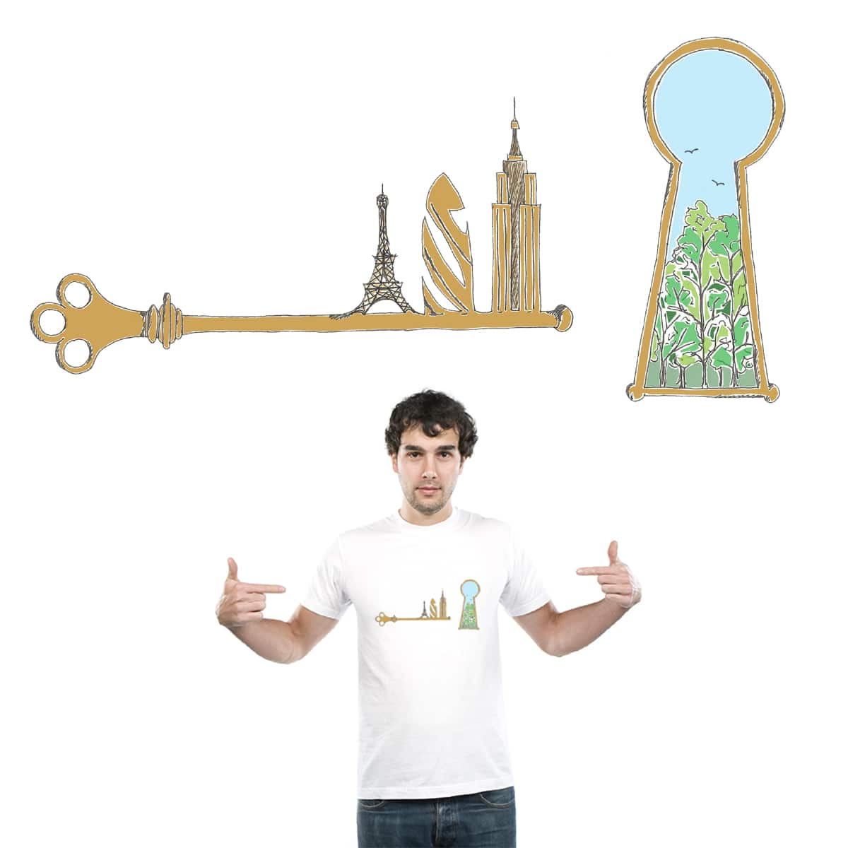 Key to the Cities by Planeto Janeto on Threadless