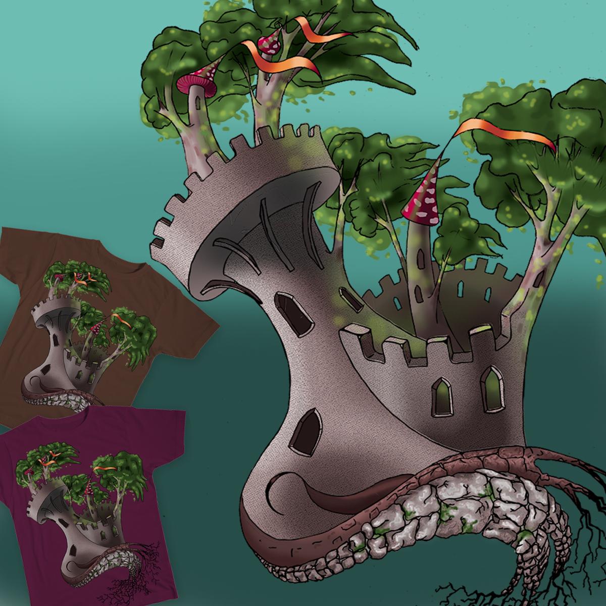tree castle by nyoo_4c on Threadless