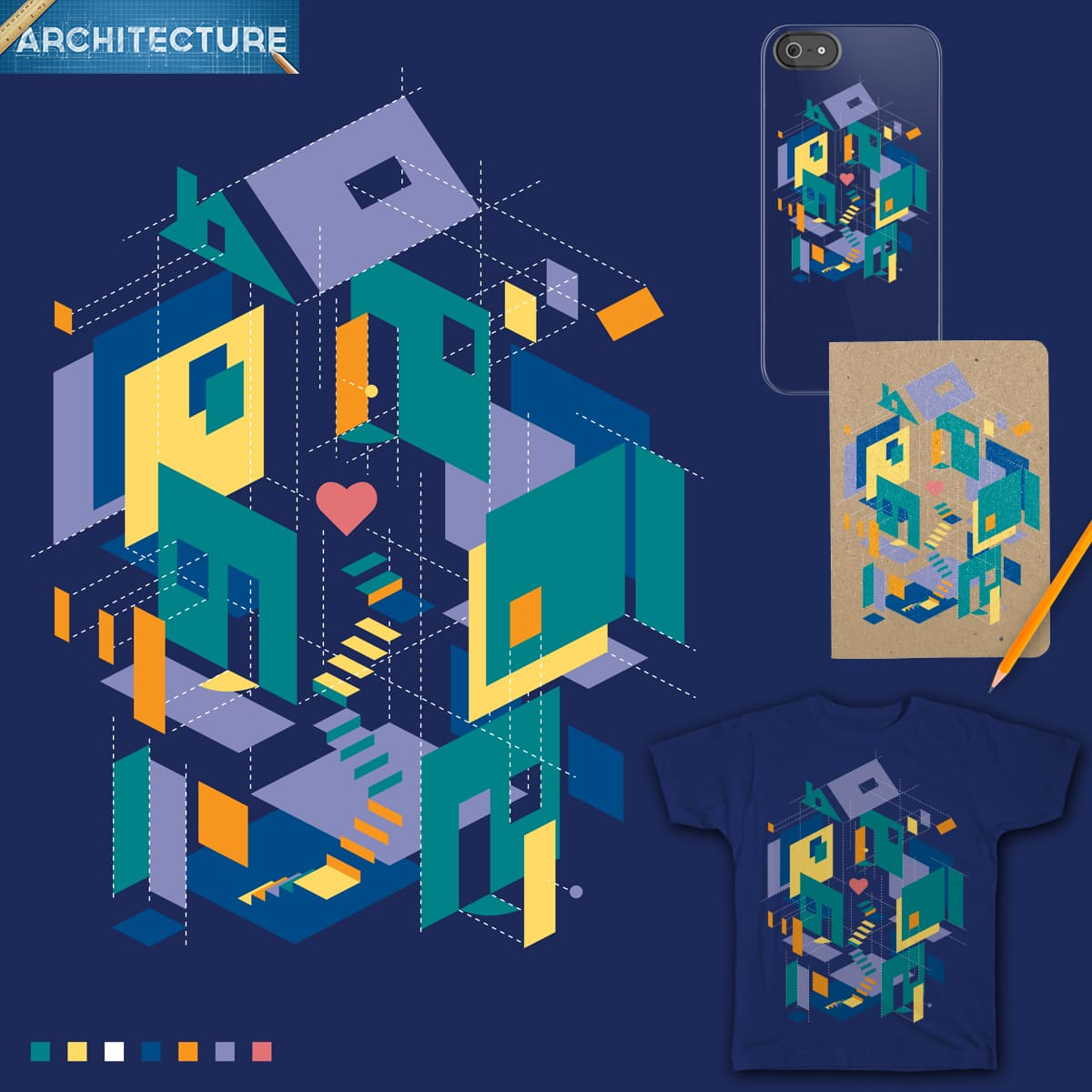 Dream Home by MrRtist21 on Threadless