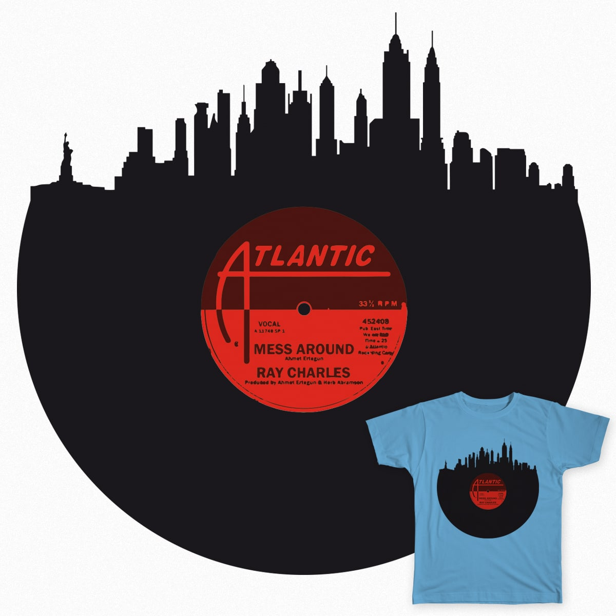 The city that never sleeps by danireilly on Threadless