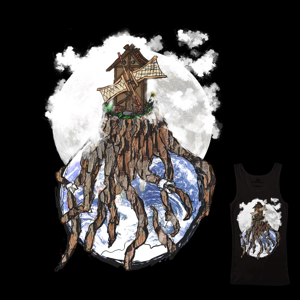 Back to the Roots by Dudelix on Threadless