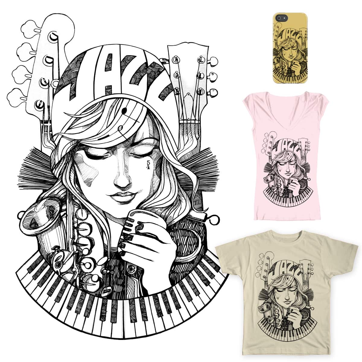 Take Jazz by filds on Threadless