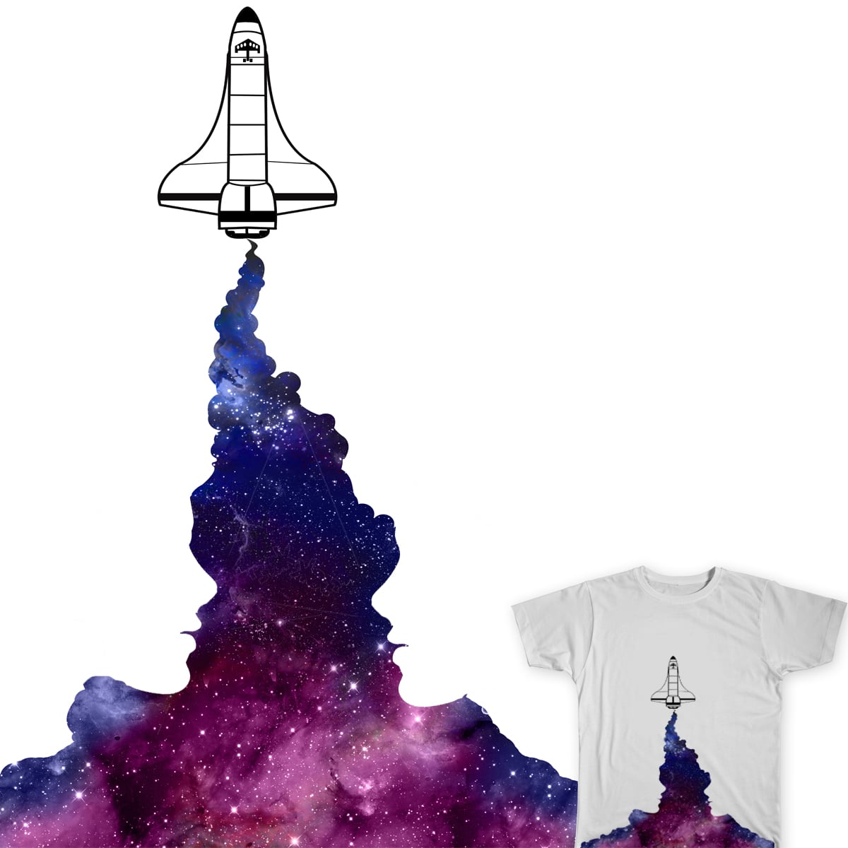 Negative Space by Kre8ive1 on Threadless