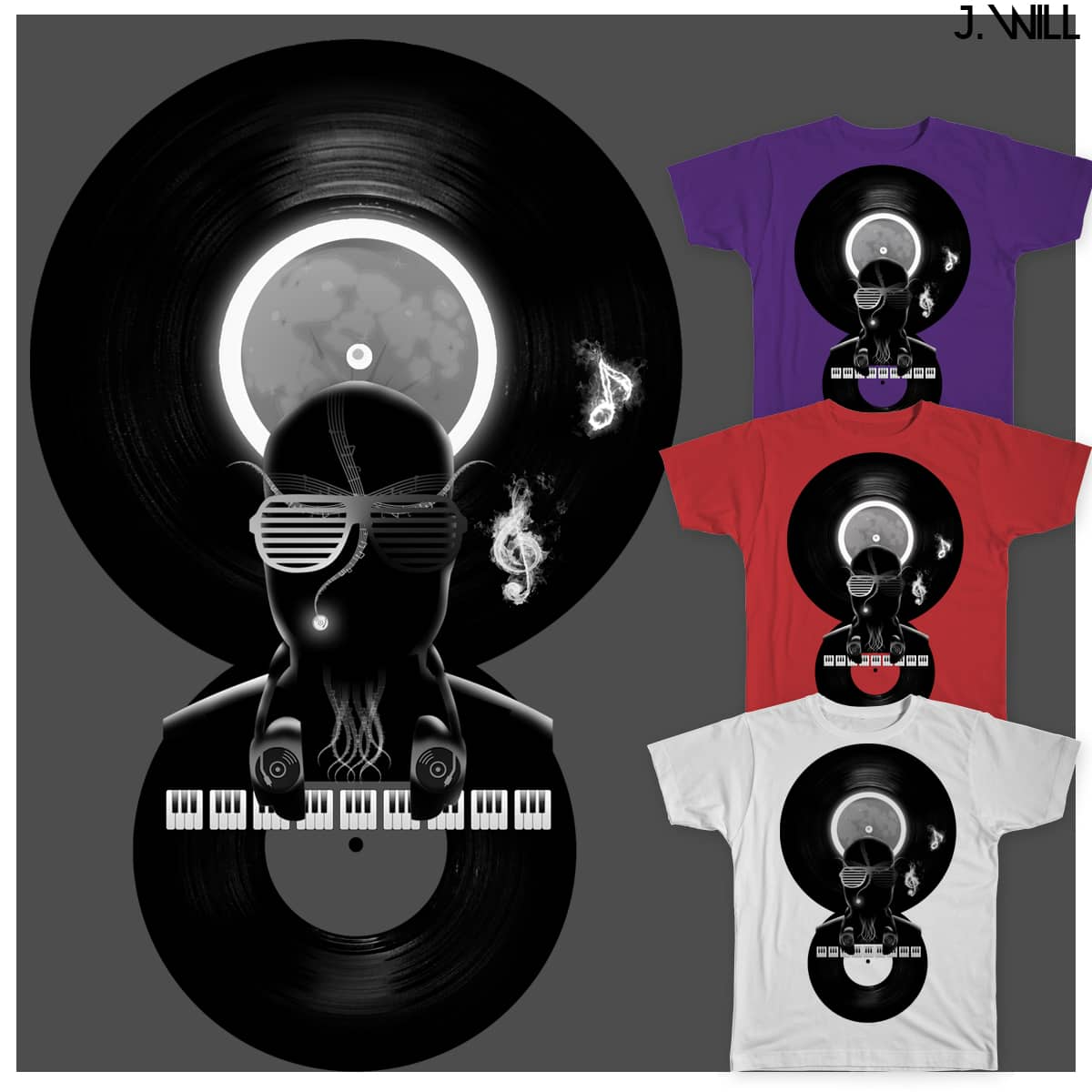 Night Music! by jwillpro on Threadless