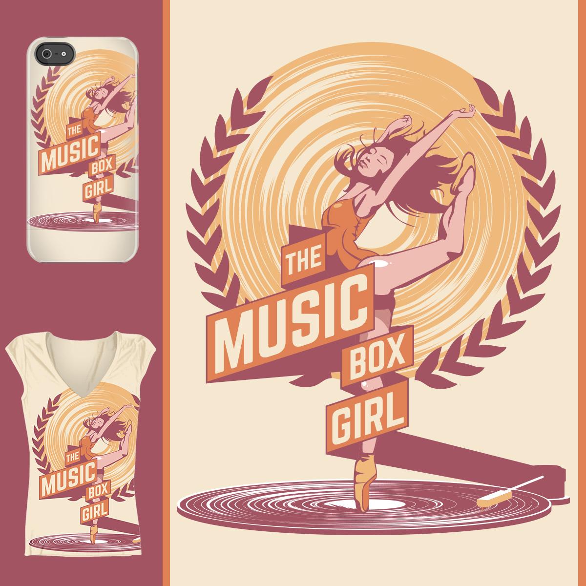 THE MUSIC BOX GIRL by NARRVITA on Threadless