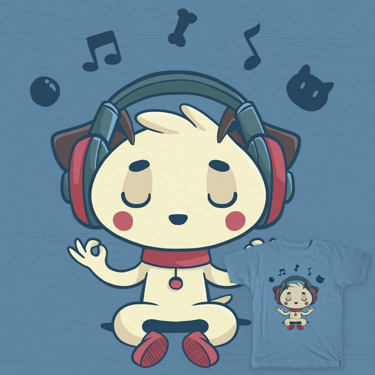 Music is for EVERYBODY! by aline.sentone on Threadless