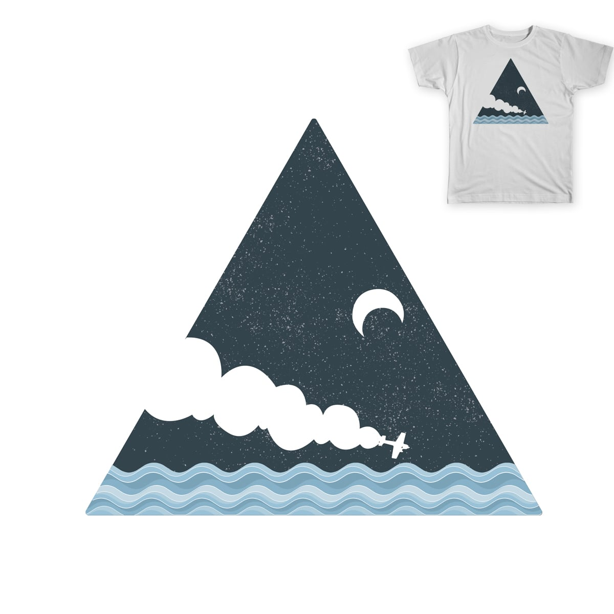 The Bermuda Triangle by TelecasterWood on Threadless