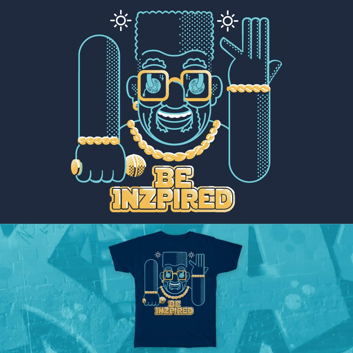 Be Inspired by builtfromlegos on Threadless