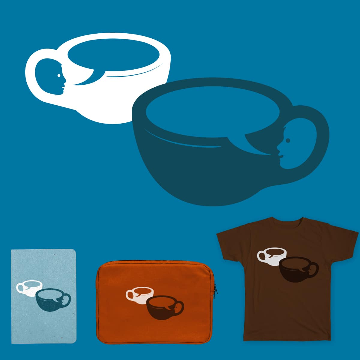 Cup O'Conversation by NorbiDemeter on Threadless