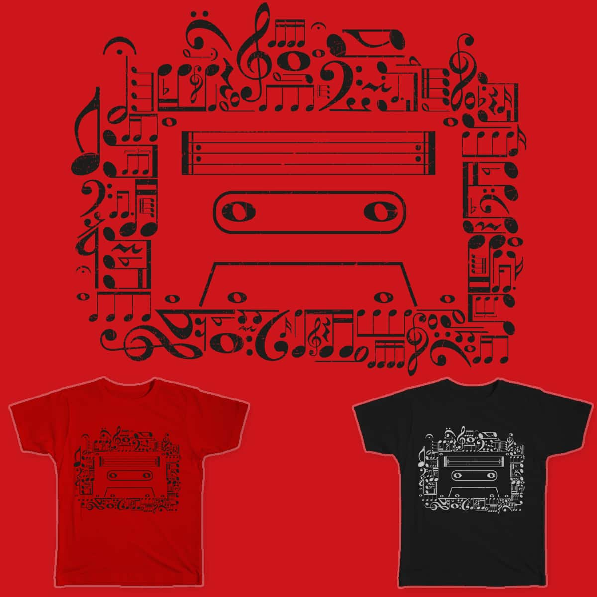 What Makes A Cassette by Flower Bean on Threadless