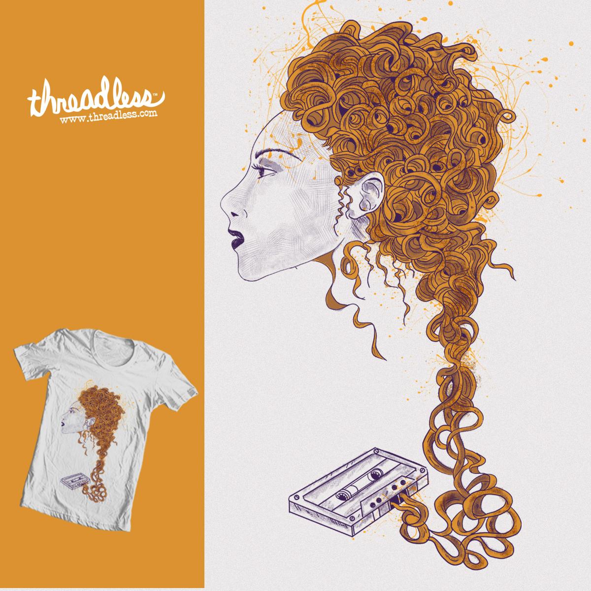 hair cassette by zatanpermana on Threadless
