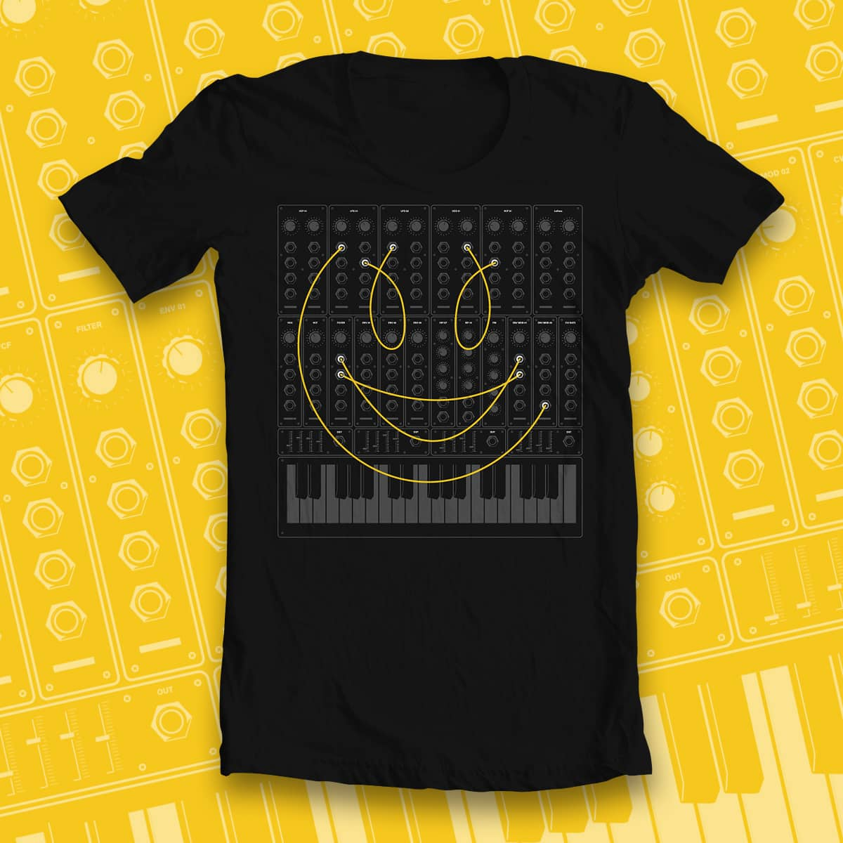 TheHappyMaker by euphospug on Threadless