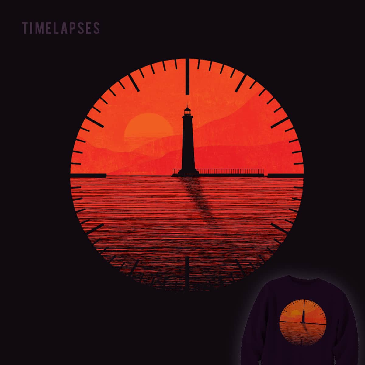 Timelapses  by halfgotten on Threadless