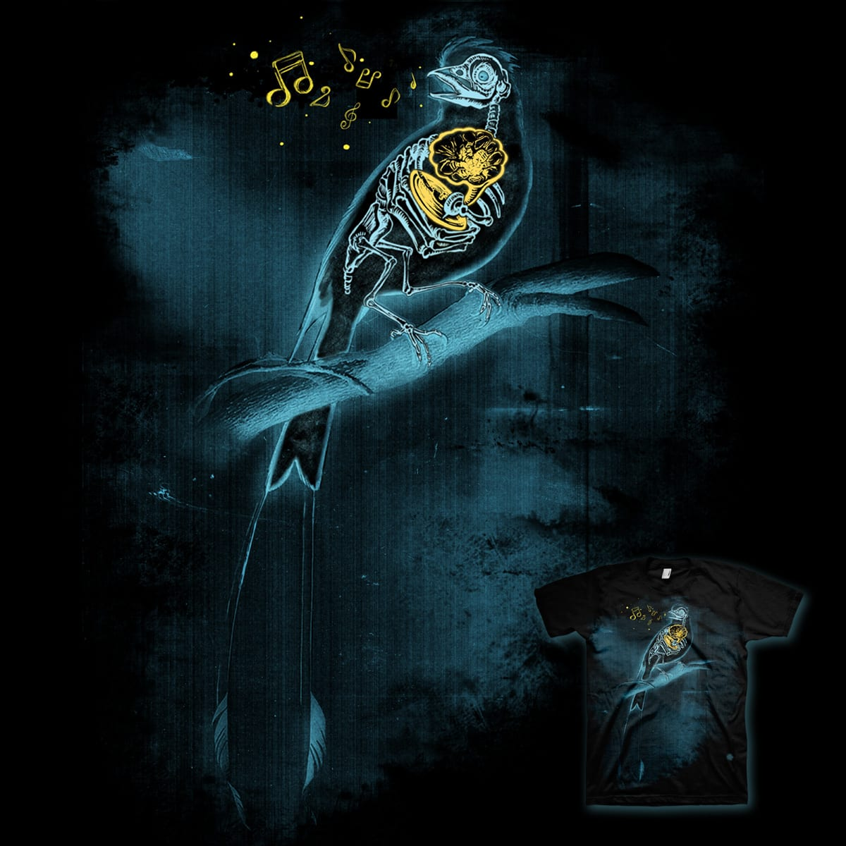 X-RAY of a Melody by opippi and GUTO_SZA on Threadless