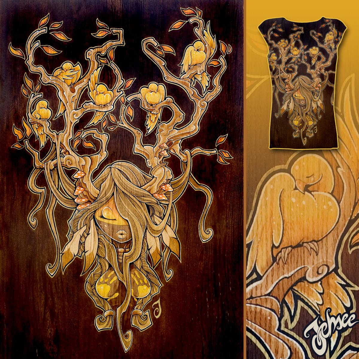 Awinita by Jehsee on Threadless