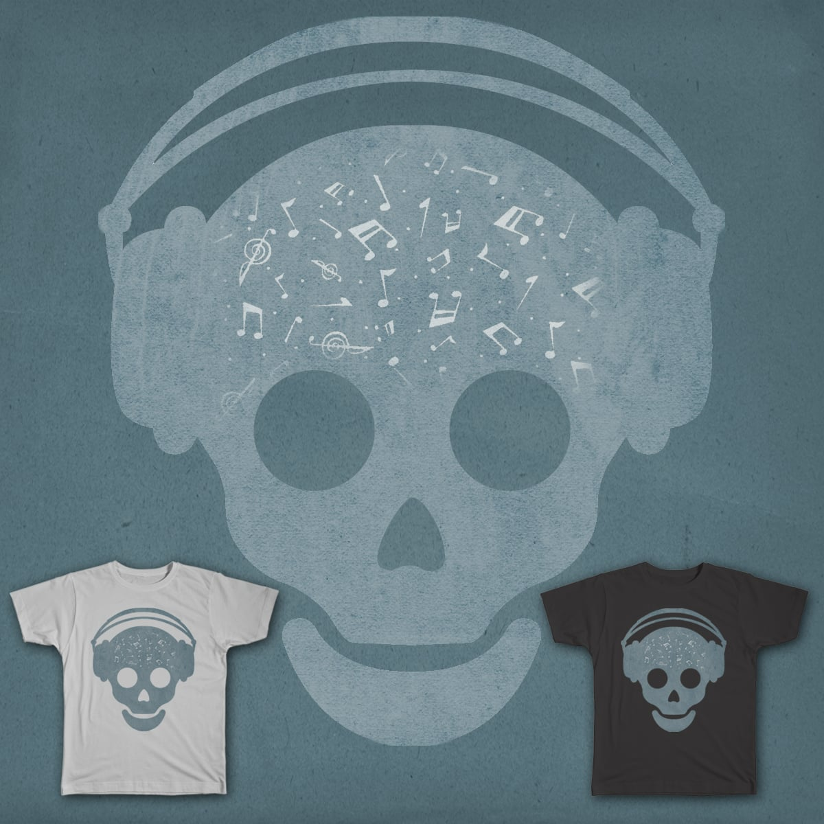The Music of Visitors by ammooina on Threadless