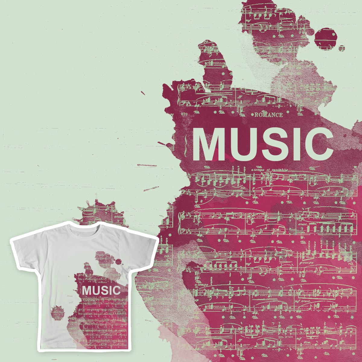 Music by dolphine4200 on Threadless