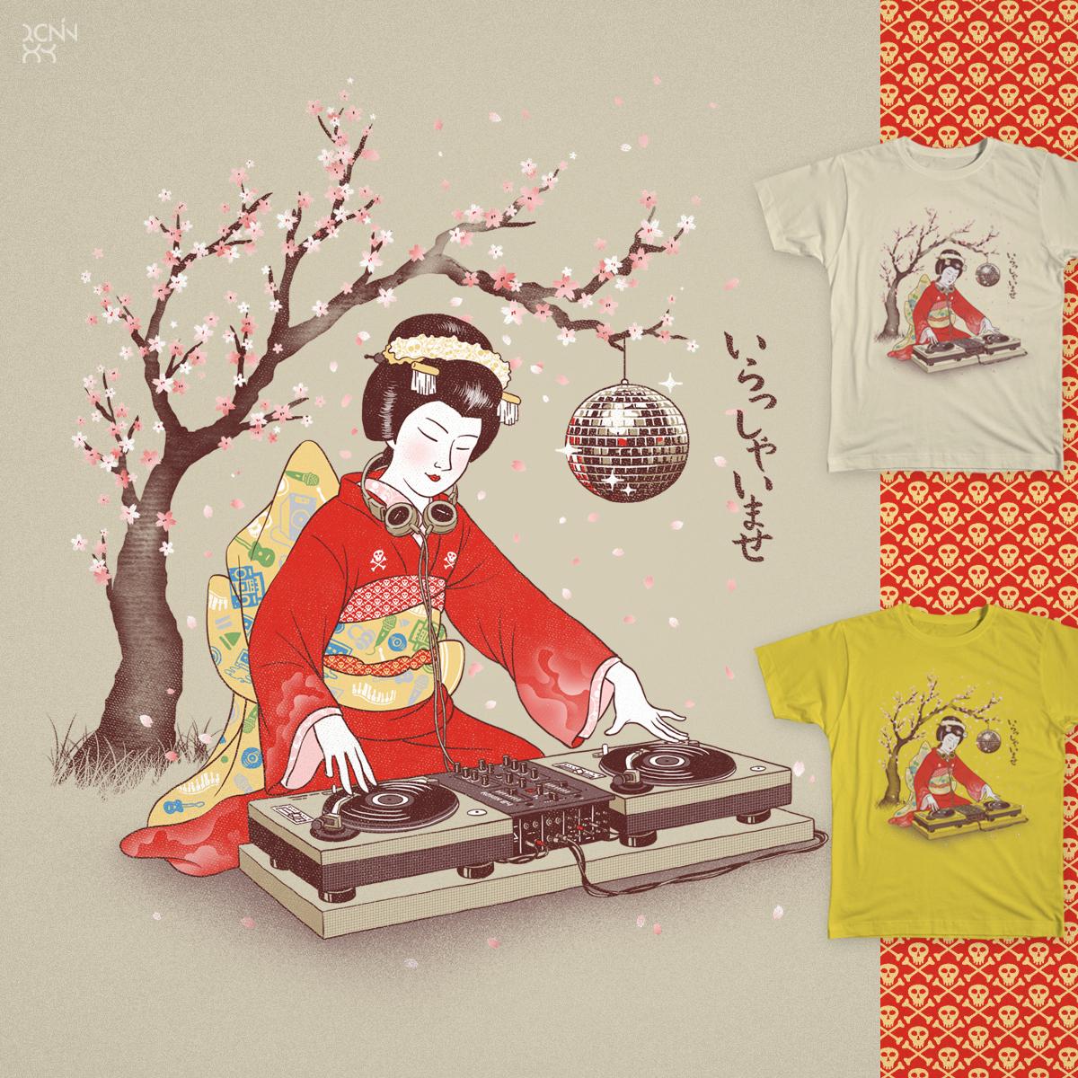 DJ Geiko by ronin84 on Threadless