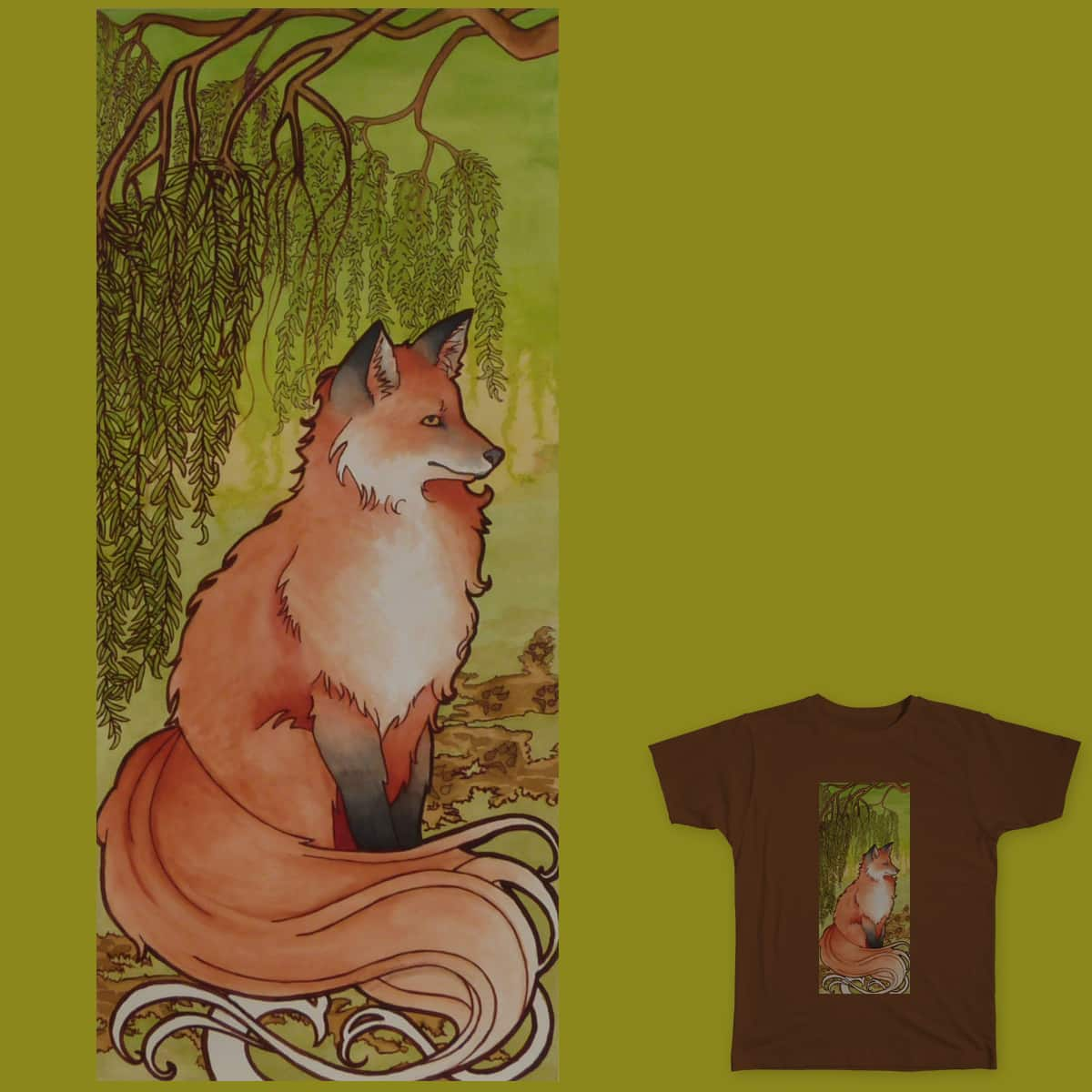 Forest King by LisaRob20 on Threadless