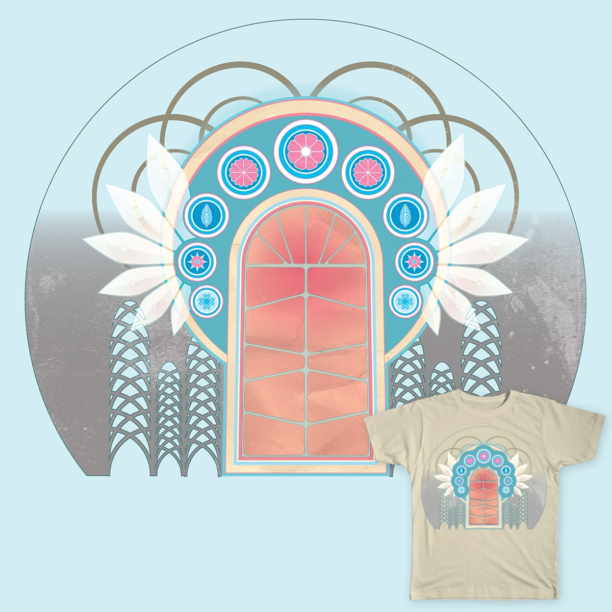 The Gateway by Greenwoode on Threadless